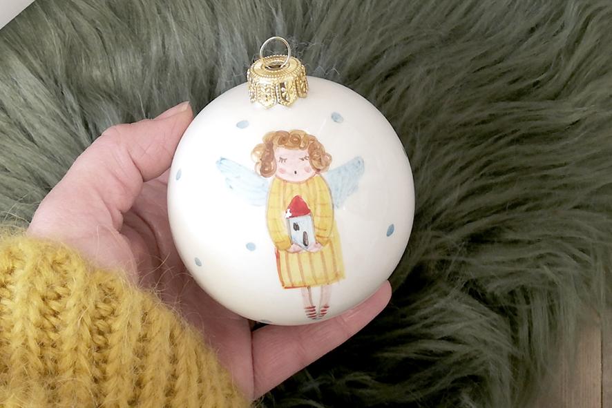 Le palline di Natale degli Angeli