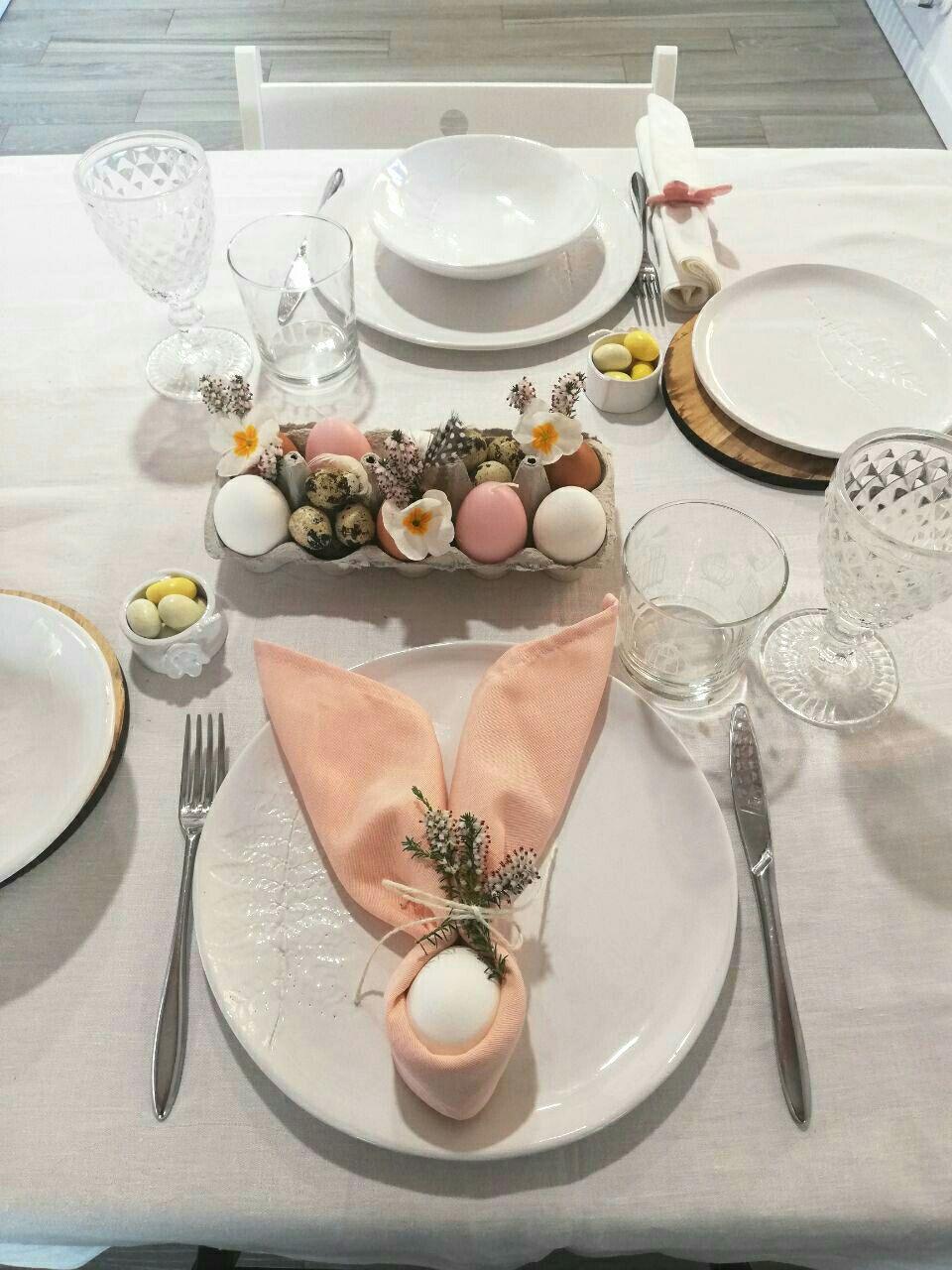 La tavola di Pasqua…noi continuiamo a sognare